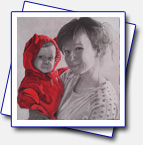 This is a present for friend of mine (Helena Krajciova) with her daughter, will see what she'll say. Format A3.