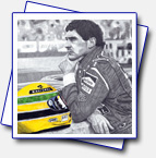 A3 format - A tribute to Ayrton Senna. F1 driver thanks to whom F1 started to take care of F1 drivers safety.