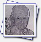 my brother-in-law's grand dad; Format A4; pencils: 6H, 4H, 2H, B, 2B
