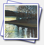 I went to http://ziveateliery.sk/ for a course called water mirroring painted by Oil.
