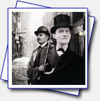 It took me ages to finish this one. This is the Sherlock that older generation knows yet not the younger :-) tribute to Jeremy Brett and David Burke